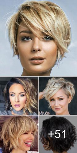 Medium Short Length Hairstyles 2019