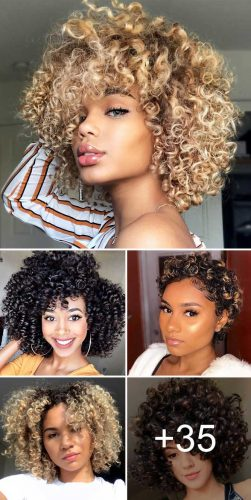 55 Beloved Short Curly Hairstyles For Women Of Any Age