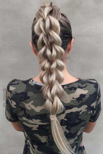 Braided Ponytail for Your Long Hair picture3