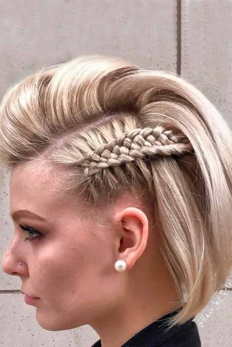 Cool and Simple Braids for Short Hair picture3