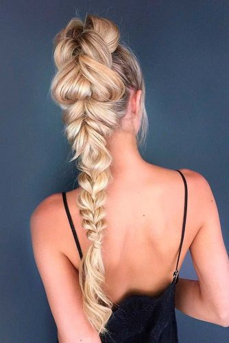 Braided Ponytail for Your Long Hair picture2