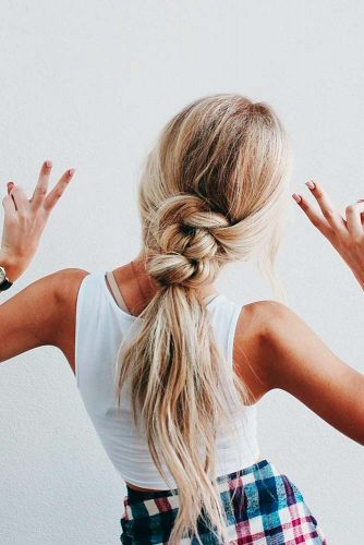 Braided Ponytail for Your Long Hair picture1