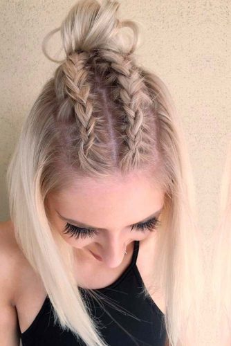 Cool and Simple Braids for Short Hair picture1