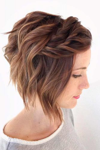 Cool and Simple Braids for Short Hair picture2