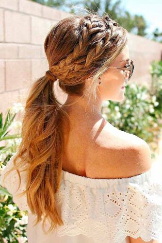 Braided Crown to Change Your Everyday Style picture3