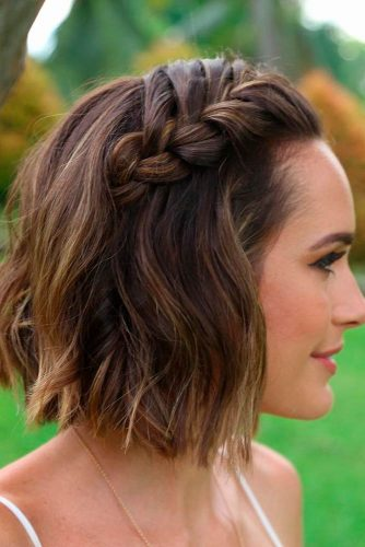 Braided Hairstyles for Short Hair picture1