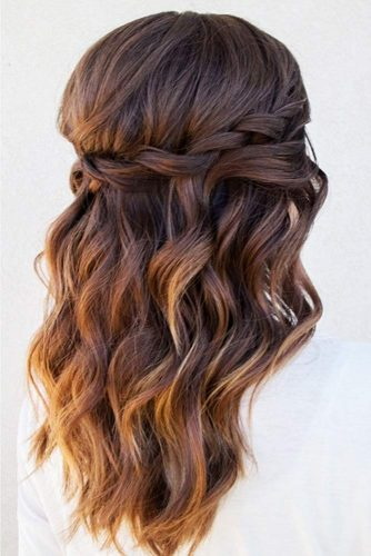 Prom And Homecoming Amazing Hairstyles With Twist Braids #braids #halfup