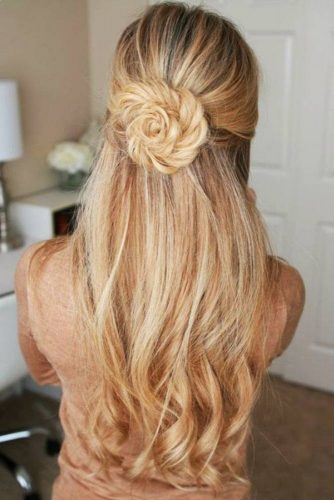 Braided Hairstyles For Your Inspiration Rosette #braids #halfup