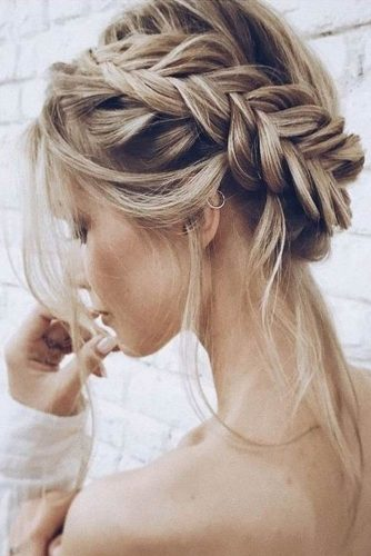 Fishtail Braided Crown To Change Your Everyday Style #braids #updo