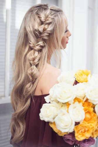 Evening Long Hair Styles Full of Glamour picture2