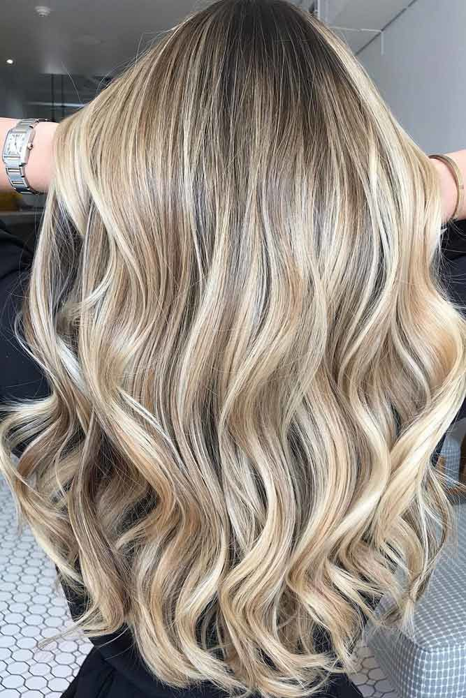 U-Cut Hairstyles For Long Hair Blonde #longhaircuts