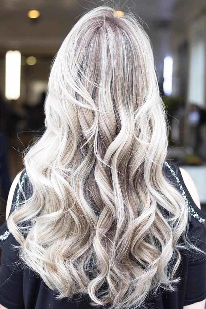U-Cut Hairstyles For Long Hair Blonde #longhaircuts