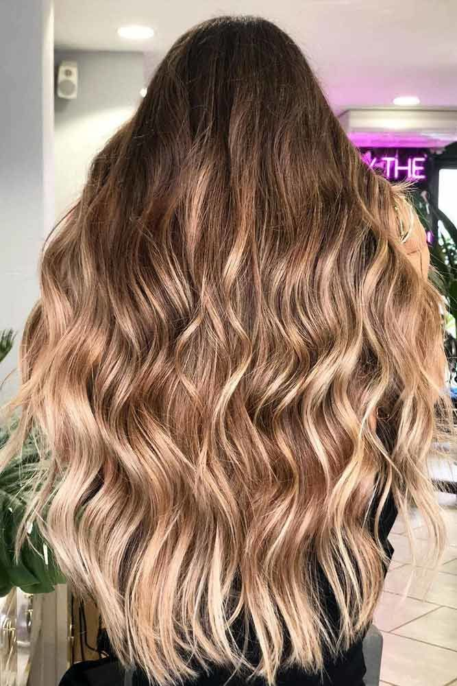 U-Cut Hairstyles For Long Hair Ombre #longhaircuts