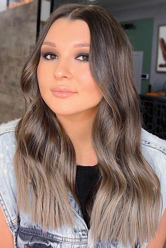 Trendy Brown Ombre Variations Ash #ombre