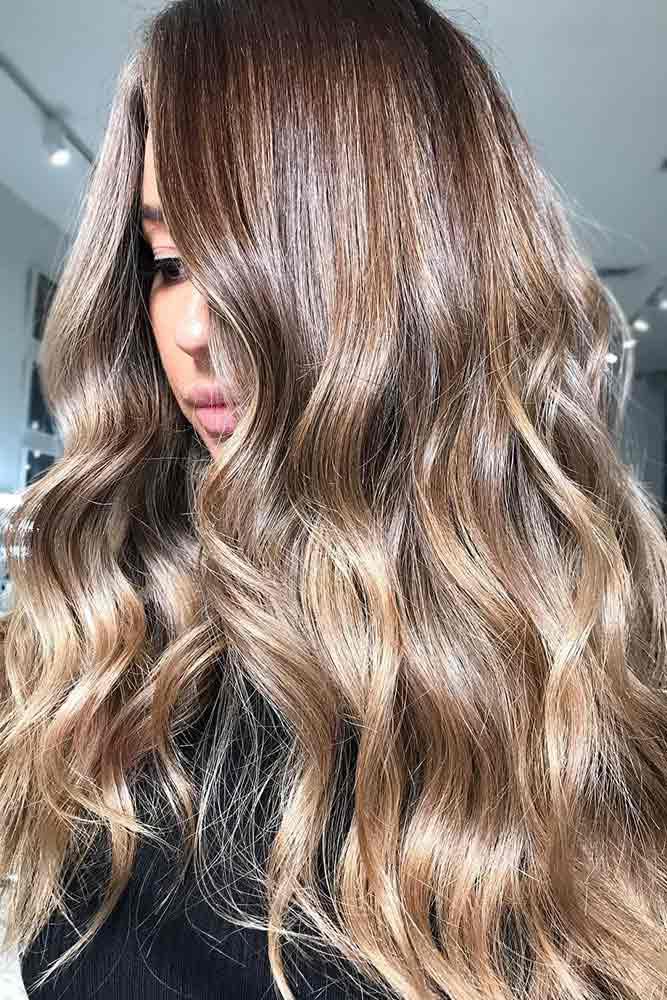 Sombre Ideas Light Brown #brunette #ombre