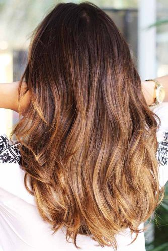 Sombre Ideas Caramel Brown #brunette #ombre