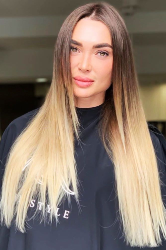 Wheat Blonde Ombre Hair #ombre