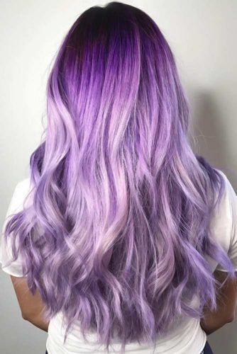 Colorful Ombre Ideas Lavender #ombre