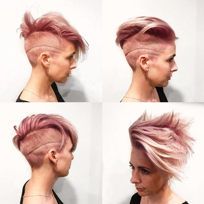Short Hair Style With Blurred Lines #shorthaircuts #shorthairstyles #shorthair