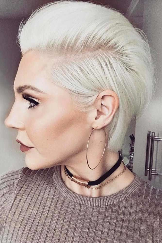 Brush Up Hairstyle #shorthaircuts #shorthairstyles #shorthair
