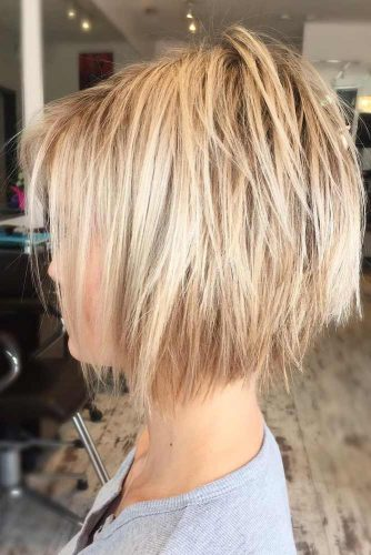 hair cutting styles for girls pictures 56 best haircuts 2019 amp easy to style 6680 | best short haircuts hairstyles gold blonde layered straight shaggy 334x500