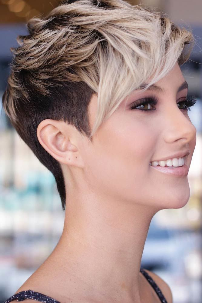 Longer On Top Pixie Style #shorthaircuts #shorthairstyles #shorthair