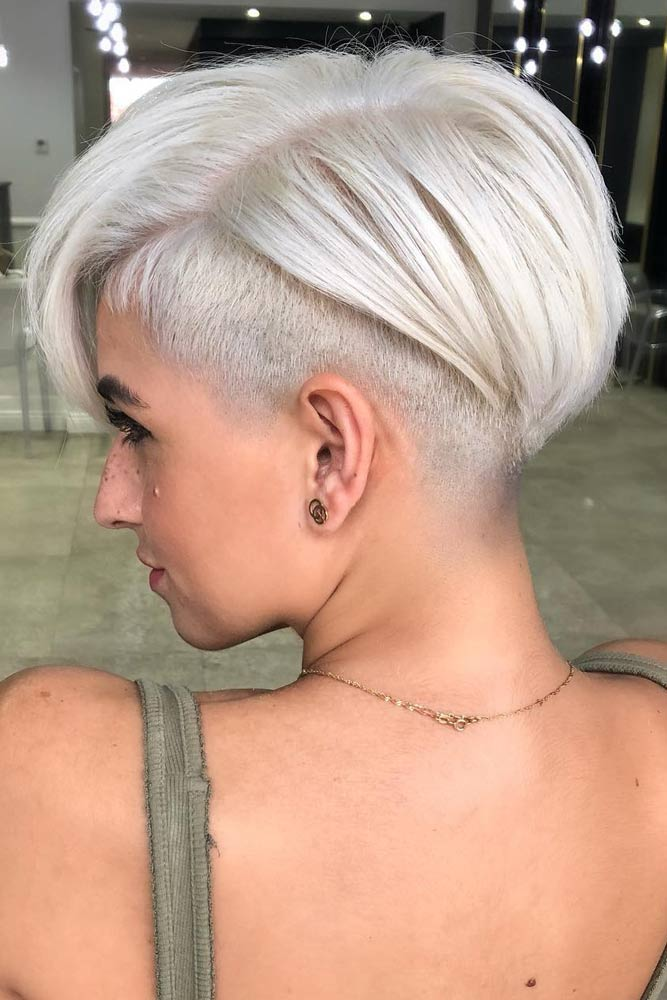 Long Pixie with Undercut