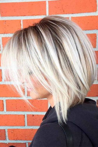 Blonde Medium Bob Haircuts picture1