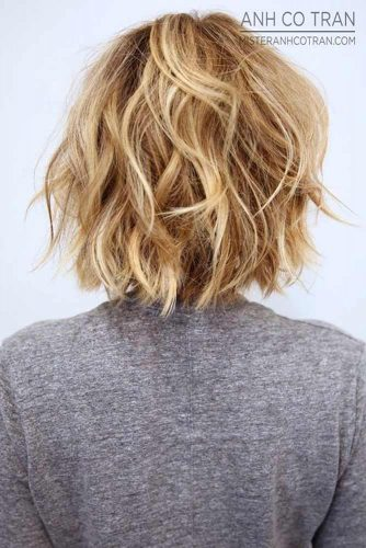 Blonde Medium Bob Haircuts picture3