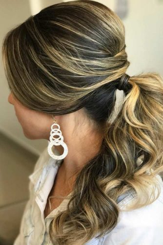 Stunning Messy Ponytail Looks picture 3