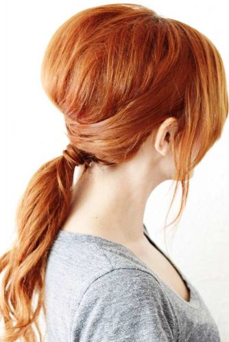 Stunning Messy Ponytail Looks picture 1