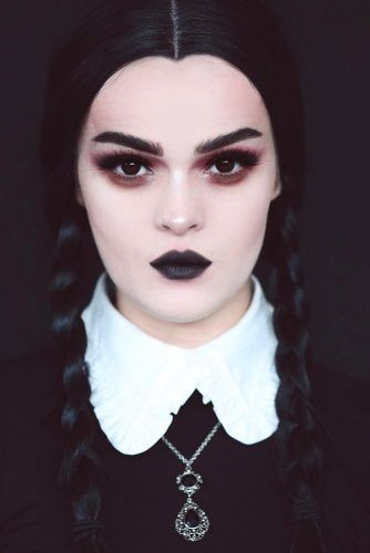 Simple Wednesday Addams' Braids