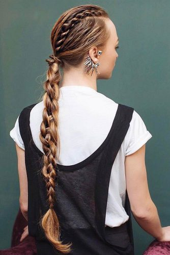 Hairstyles with Interesting Braids picture2