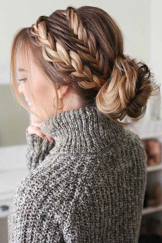 Beautiful Braided Updo Hairstyles picture1