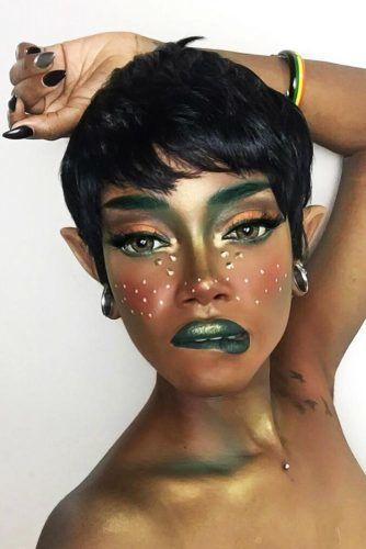 Pixie Elf Style #halloweenhairstyles #longhair