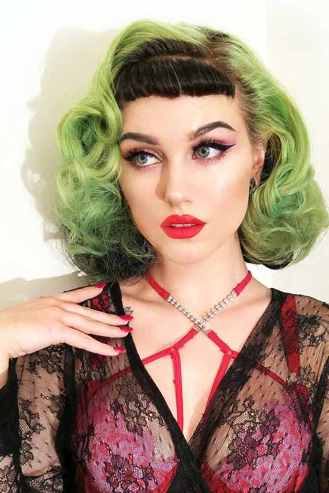Pin Up Halloween Hairstyles for Girls picture 2