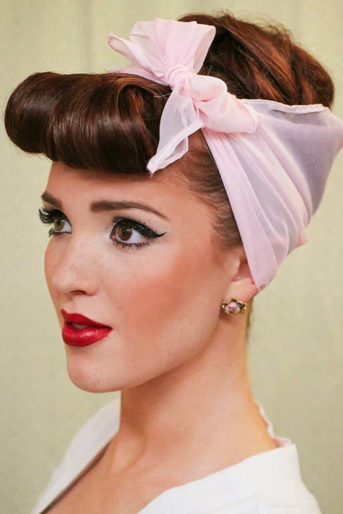 Pin Up Halloween Hairstyles for Girls picture 3