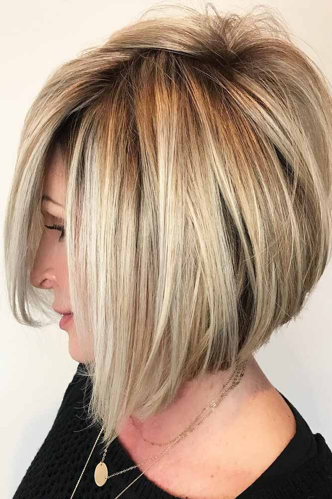 Spiky Bob with Balayage #bob #layeredhair