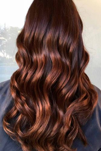 Silky Highlights for Dark Brown Hair picture3