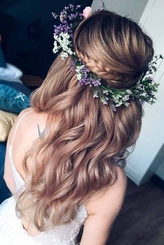 Beautiful Half Up Half Down Homecoming Hair picture2