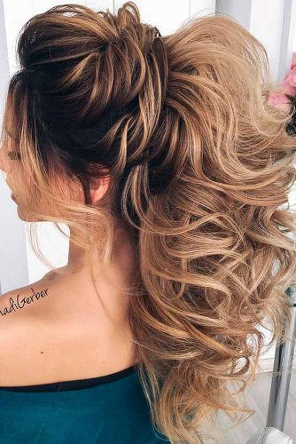 Beautiful Half Up Half Down Homecoming Hair picture3