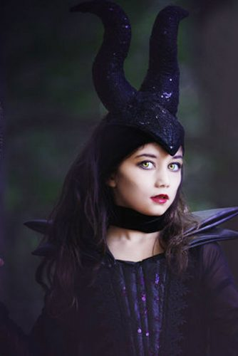 Halloween Hairstyles for Black Princess picture 2