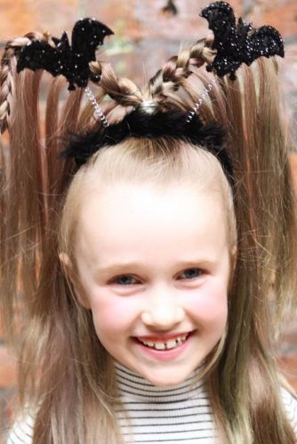 Horror Halloween Hairstyles For Girls #haloweenhairstyles #braids