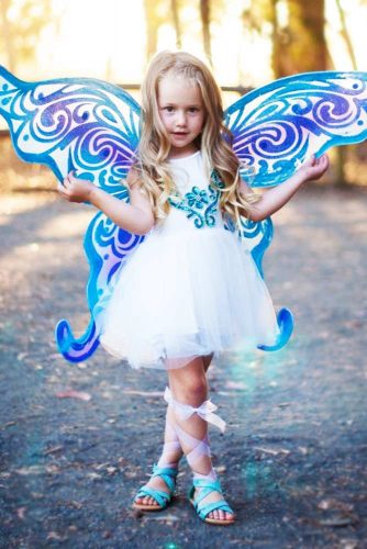 Little Fairy Hairstyles Braid #haloweenhairstyles #braids