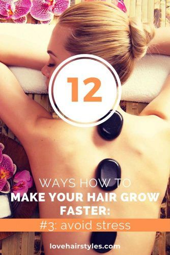 Avoid Stress #howtomakehairgrowfaster