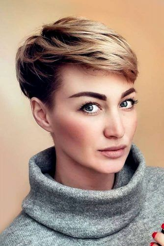 Short Pixie For Brave Girls #shorthaircuts #shorthairstyles #pixiecut #shortpixie