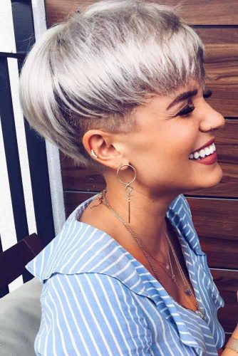 Blonde Pixie Cut Styles picture1