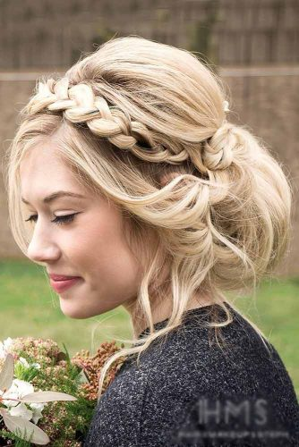 Fishtail Crown Braided Updo picture2