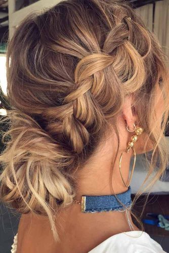 Crown Braided Updo picture1