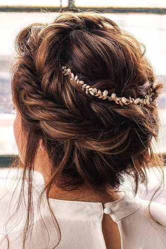 Fishtail Braided Hair Updos picture1